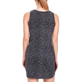 Icebreaker Yanni jurk Dames wit/zwart